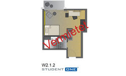 Apartment 1. UF Nr. W.2.1.3