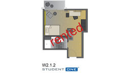 Apartment 1. UF Nr. W.2.1.2